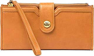 Hobo Britta Caramel Leather Wallet