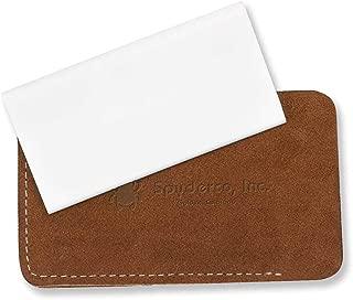 Spyderco - Fine Grit Slip Stone Sharpener with Suede Case - Ceramic Stone - 307F