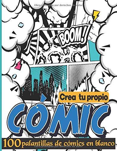 crea tu propia cómic: Plantillas de cómics en blanco | Crea tu Cómic | Cuaderno de dibujo para adultos, adolescentes y niños
