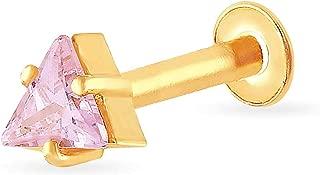 Malabar Gold & Diamonds 22k (916) Yellow Gold Nose Pin