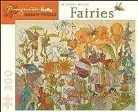 Michael Hague - Fairies: 300 Piece Puzzle (Pomegranate Kids Jigsaw Puzzle)