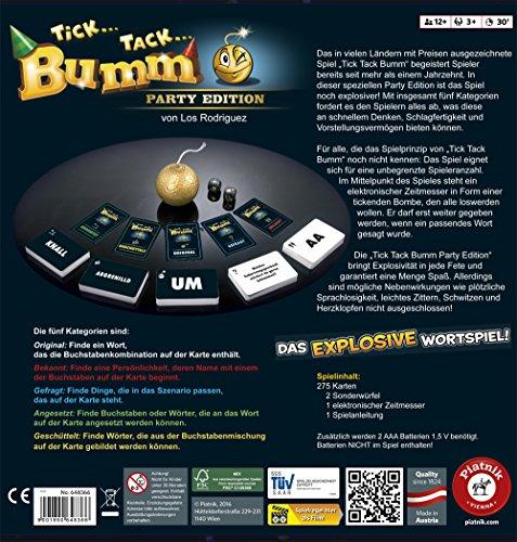 Piatnik  648366 – Tick Tack Bumm Party Edition - 2