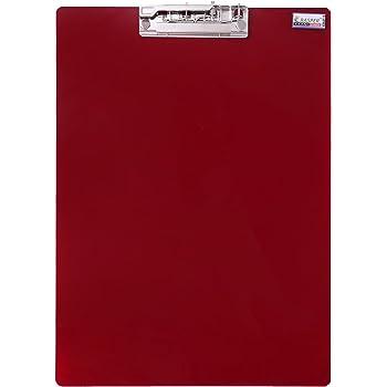 Rasper Red Acrylic Clip Board Exam Pad (14x10 Inches) Premium Quality