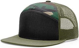 Richardson 958 7 Panel Trucker Blank Baseball Cap OSFA HAT