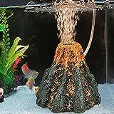 Pas Cher Simulation Volcanic Aquarium Volcan Forme et Bulle d'air Pierre Pompe À Oxygène Fish Tank Ornement Décor Aquarium Accessoires big Sales