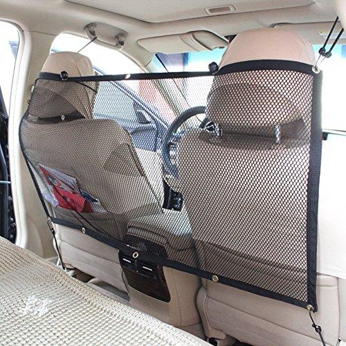 Candora - Barrera de seguridad de coche para mascota – Red