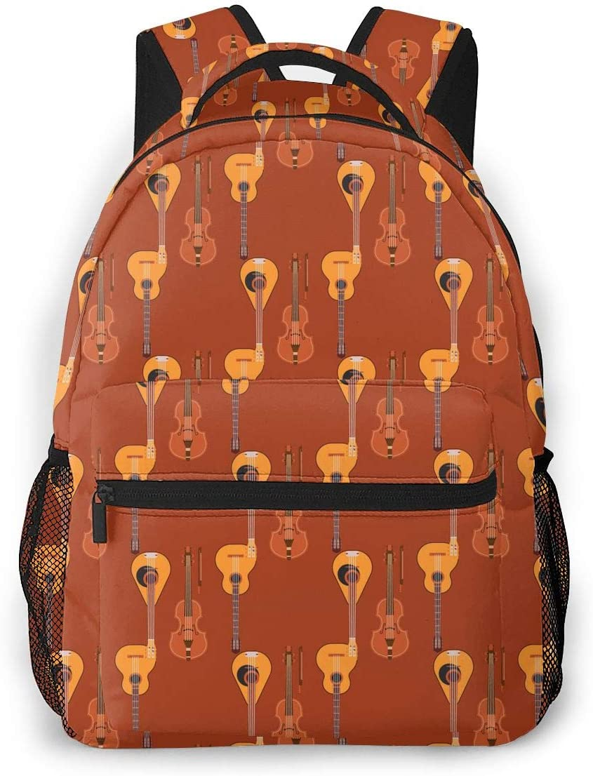 Stringed 日本未発売 新作販売 Musical Vintage Style With Backpacks Unisex Adjustable