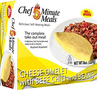 Chef 5 Minute Meals Omelet with Chili and Beans
