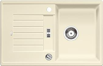 BLANCO ZIA 45 S - Rechthoekige granieten spoelbak van silgraniet voor 45 cm brede onderkasten - beige - 514719