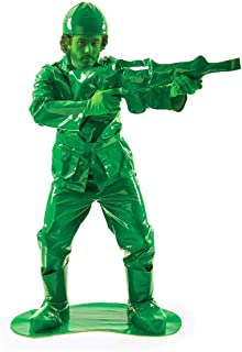 Orion Costumes Unisex Military Toy Army Man Soldier Fancy Dress Costume Gun Green