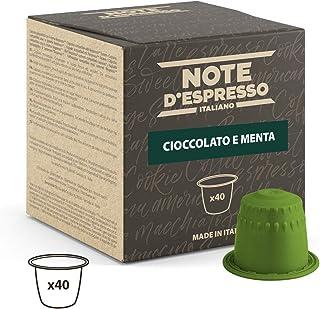 comprar comparacion Note D'Espresso Cápsulas de Chocolate con Menta - 40 x 7 g, Total: 280 g