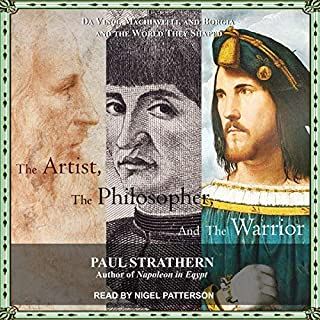 The Artist, the Philosopher, and the Warrior audiobook cover art