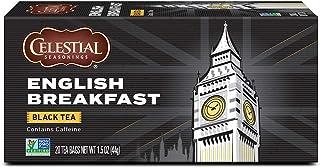 Celestial Seasonings Black Tea, English Breakfast, 20 Count