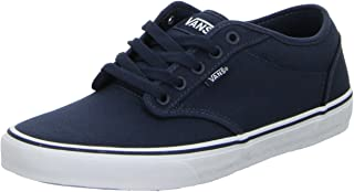 Vans Men's Atwood Trainers, Canvas Navy White, 11 UK