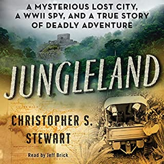 Jungleland audiobook cover art