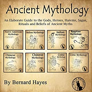 Ancient Mythology audiobook cover art