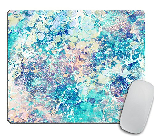 Marble Mousepad, Mouse Mat, Desk Accessories, Mermaid Mousepad, Modern Mouse Pad, Personalized Mouse Pad Rectangle Mousepad, Cubicle Decor