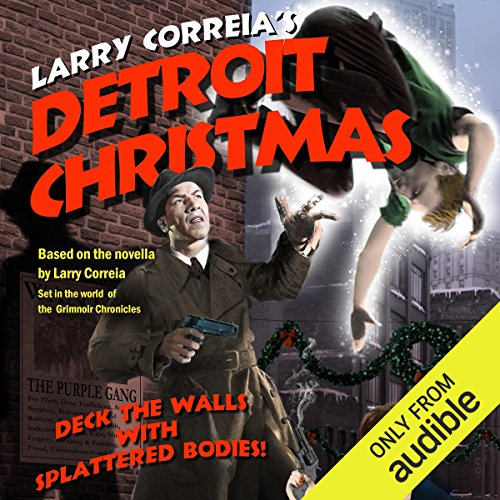 Detroit Christmas audiobook cover art