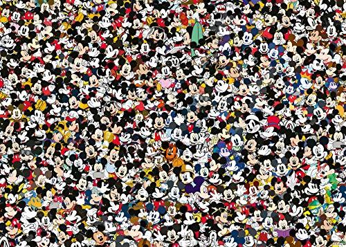 Ravensburger Puzzle 16744 Challenge - Puzzle (1000 Piezas), diseño de Mickey Mouse