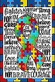 Flags Galore Decor & More Autism Puzzle Garden Flag G 1462