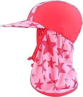 MK MATT KEELY Barn sommar visir UV solskydd hatt småbarn strand badmössa med nackskydd