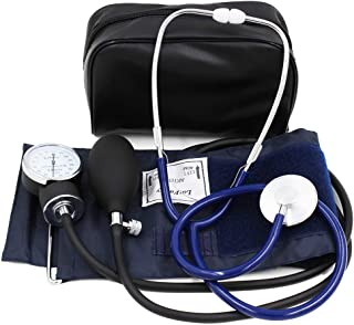 Aneroid Sphygmomanometer and Blood Pressure Kit with Stethoscope by LotFancy, Manual Blood Pressure Monitor,