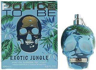 Police To Be Exotic Jungle Eau De Toilette Fragrance for Men 125 ml - 1731121