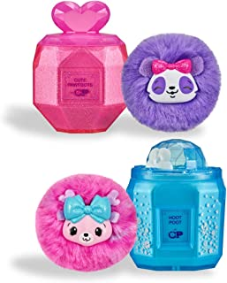 Pikmi Pops Cheeki Puffs - 1pc Collectible Scented Shimmer Plush Toy in Small Perfume - 2 Pack