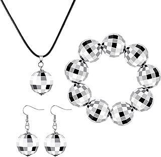 swarovski disco ball earrings