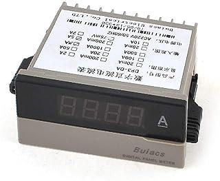 X-DREE Red LED 0-1999 Digits 3 1/2 Digital Display Panel Ammeter 0-5A (66cb0bd9-a222-11e9-8d7c-4cedfbbbda4e)