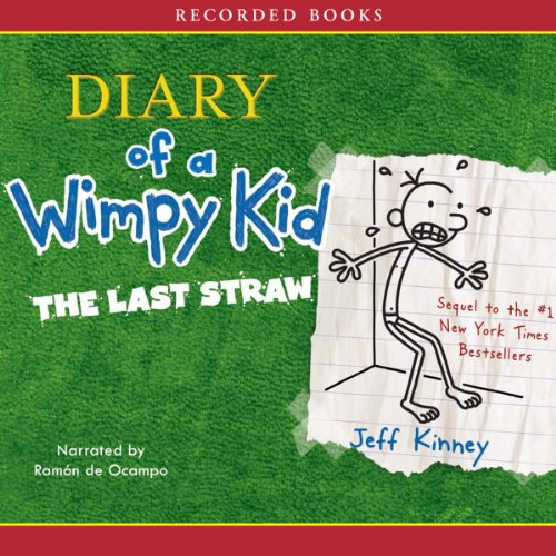 The Diary of a Wimpy Kid audiobook cover art