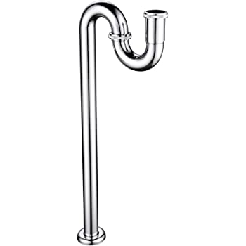 Ciencia Sink Trap Brass S Trap For Bathroom Sink Kitchen Sink Sewer Pipe Drain Tube S Trap Chrome Wt04 Amazon Com