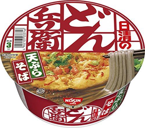 日清のどん兵衛 天ぷらそば[東] 3ケース(100g×36個)