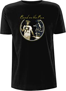 Wings Band on The Run Paul McCartney Live Tour Official Tee T-Shirt Mens Unisex