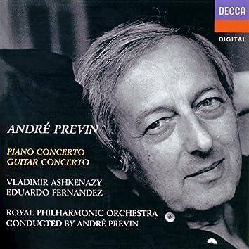 Previn: Piano Concerto; Guitar Concerto