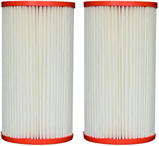 Replacement Filter Cartridge for Coleco F-120 w/core, Intex Sand-n-Sun, Wet Set, Easy Set Size A or C, Aqua Leisure Size 2-2 Pack