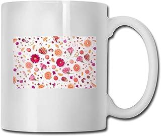 Xarchy Tasse À Café En Porcelaine Fleur Fruit Tasse En Céramique Tasses À Thé Pour Le Bureau À Domicile