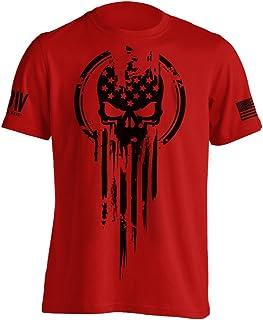 Best American Warrior Flag Skull Military T-Shirt Review
