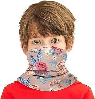 Simayixx Seamless Rave Bandana Unisex Face Cover Neck Gaiter Balaclava Headwear for Kids Boys Cycling Hiking