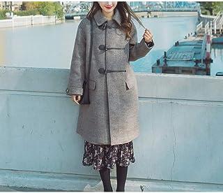 347a46620d5213 25-FANYUHONG Cappotto di lana, Cappotto da donna Giacca invernale da donna  d'