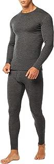 Ropa Térmica de Lana Merino Hombre Camiseta/Pantalón/Conjunto Interior Deportivo Baselayer Trekking Montaña M31