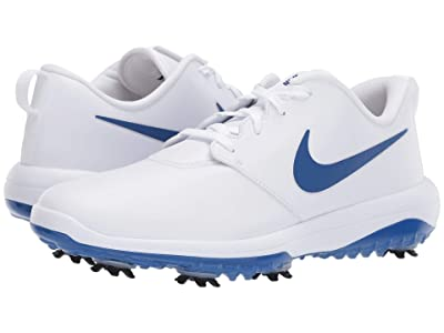 Nike Golf Roshe G Tour (White/Indigo Force/White/Indigo Force) Men