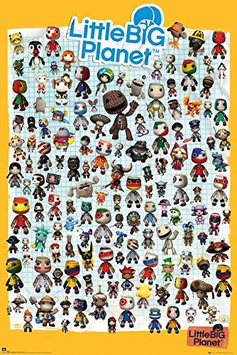 GB Eye Ltd, Little Big Planet 3, Personaggi, Maxi Poster, 61 x 91,5 cm