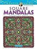 Creative Haven Square Mandalas (Creative Haven Coloring Books)