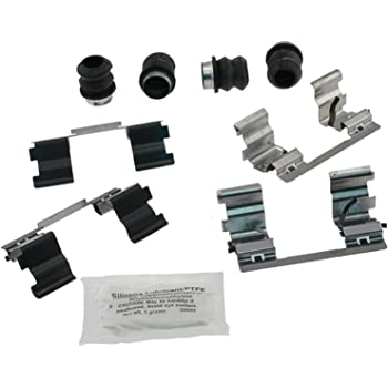 ACDelco 18K1349X Professional Rear Disc Brake Caliper Hardware Kit with Clips and Seals