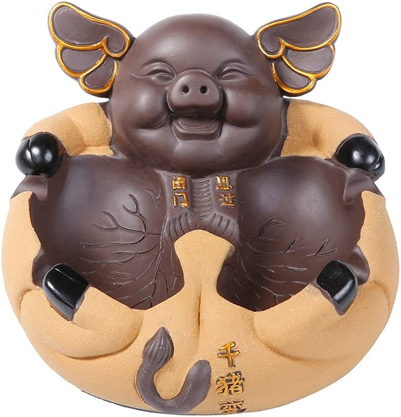ZCCLCH Ceramic Ashtray Personalized Pig Coff Office Cute Safety and trust Tucson Mall