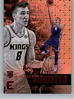 2017-18 Panini Essentials #11 Bogdan Bogdanovic Sacramento Kings Rookie RC Card NBA Basketball Card