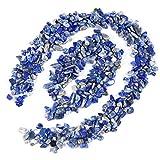 UEETEK Ghiaia lucidata colore misto decorativo pietre di roccia di fiume per acquario (blu...