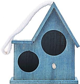 متجر zxb-shop Bird Nest Parrot Pearl Bird Cage مستلزمات الحيوانات الأليفة الإبداعية عدد صغير من الطيور البنية (اللون: أزر...