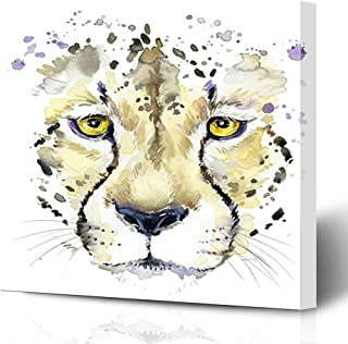 animal silhouette watercolor